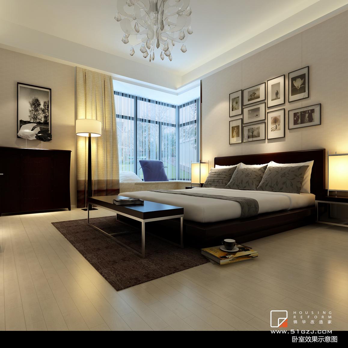 汉府雅苑老房装修-180平米-现代简约装修-大户型-现代简约