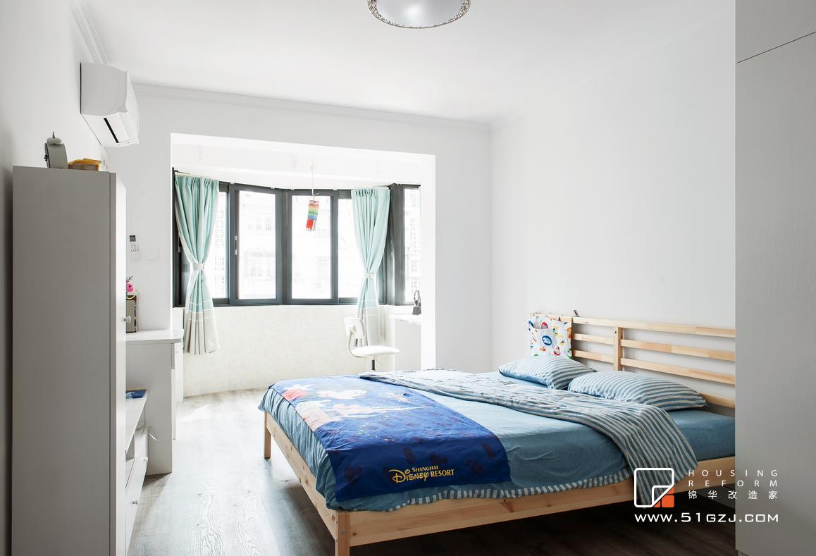 五台山小区老房装修-60平米-北欧装修-两室一厅-北欧