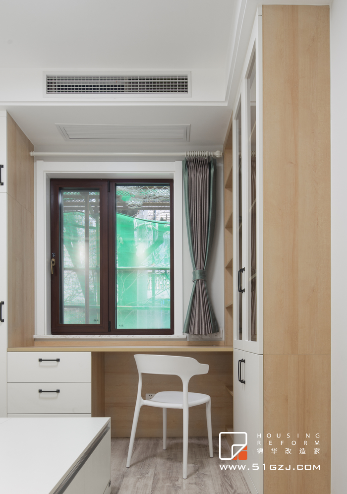 西康路30号老房翻新装修-50平米-北欧装修-两室一厅-北欧