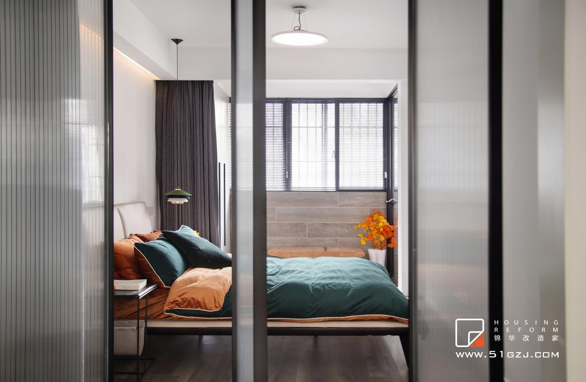 木匠营老房翻新-60平米-混搭装修-两室一厅-混搭