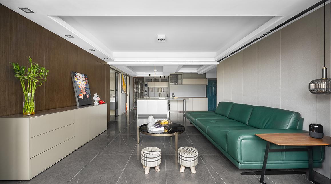 龙蟠南苑二手房装修-150平米-现代简约