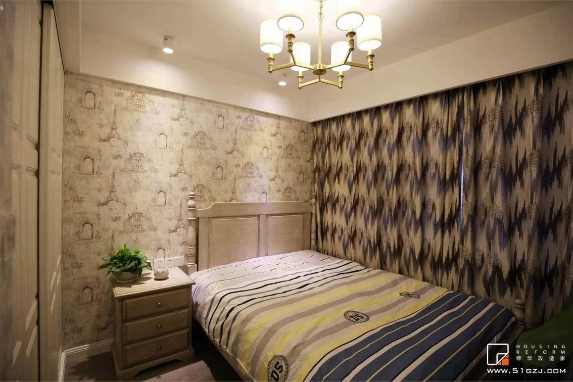中海国际社区二手房装修-90平米-简欧装修-三室一厅-简欧
