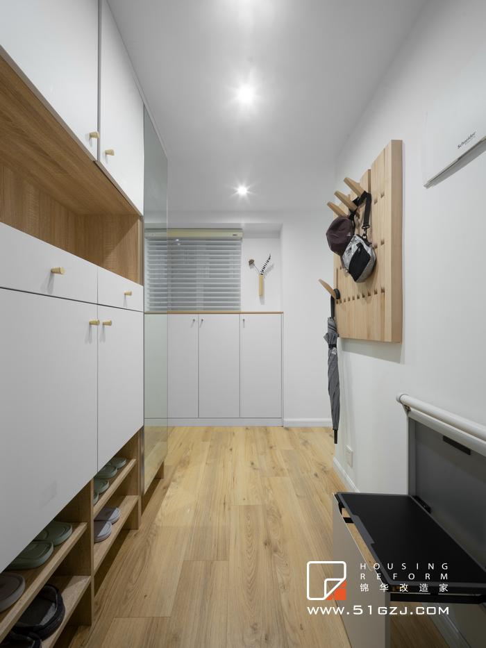 永庆村二手房装修-45平米-现代简约装修-小户型-现代简约