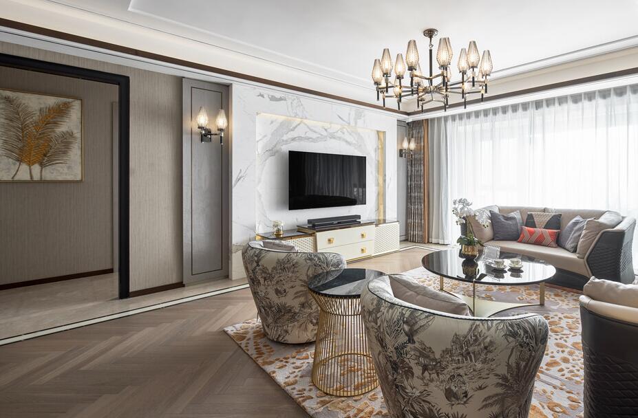 【金陵湾】263平米老房改造翻新案例-四室两厅-现代简约