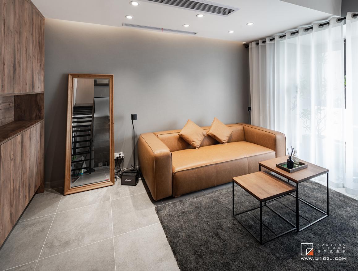 金地自在城二手房翻新-110㎡-現代簡約風  裝修-三室一廳-現代簡約