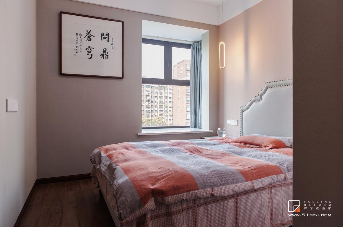 金浦御龍灣二手房翻新-138㎡-新中式裝修-三室一廳-新中式