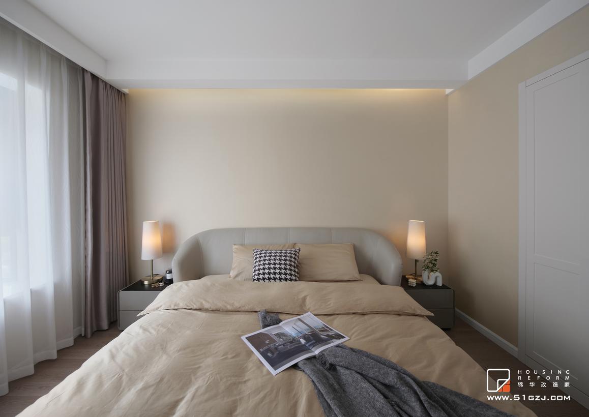 金鼎灣國際二手房翻新-140㎡-現代簡約裝修-三室一廳-現代簡約